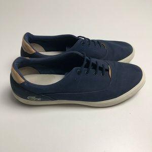 Lacoste Mens Shoes Blue Size 12